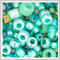 TOHO Factory Mixes of various seed beads