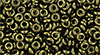 TOHO - Demi Round 8/0 3mm : Gold-Lustered Dk Antique Bronze
