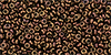 TOHO - Demi Round 11/0 2.2mm : Higher-Metallic Cinnamon Bronze