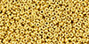 TOHO - Demi Round 11/0 2.2mm : Metallic 24K Gold Plated